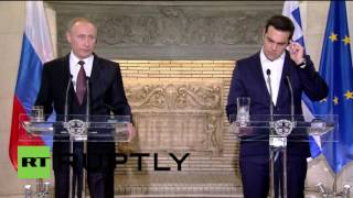 Greece: Putin talks South Stream project, US missile shield during Athens visit