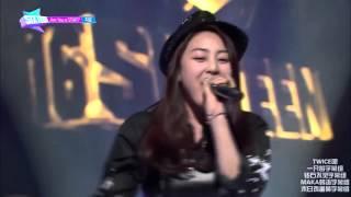 SIXTEEN 20150505 Ep1-06 志效 (박지효,智孝) 舞台 (愛情的電池) [中字]