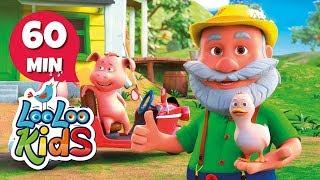 Old MacDonald Had a Farm - Wonderful Songs With Animals | LooLoo Kids
