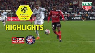 EA Guingamp - Toulouse FC ( 1-2 ) - Highlights - (EAG - TFC) / 2018-19