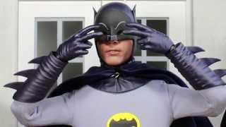 Batman Classic TV Series Hot Toys Adam West Batman 1/6 Scale Collectible Figure Review