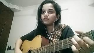 One chord 12 Old bollywood songs (medley) on guitar by Swati