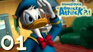Donald Duck Quack Attack - Let's Play FR #1 - Daisy a été enlevée ?!