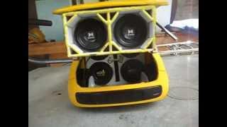 Mini uno cala boKa amarelo 2013! # Tocando Funk