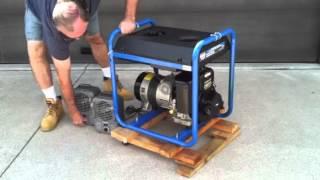 rlmutoob 5000 watt Generator 10hp Electric Start