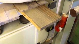 Planing some ziricote wood