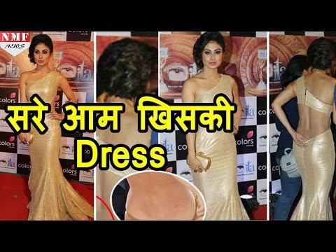 Xxx Mp4 Tv की Naagin Mouni Roy ने Face किया Oops Moment सरे आम खिसकी Dress 3gp Sex