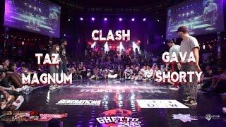 Shorty & Gava VS Taz & Magnum | step 1 CLASH | fusion concept 2016