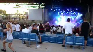 Funny drunk woman dancing plus Megadeth Phoenix