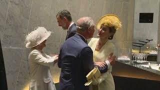 Prince Charles Royal kiss mix-up with Spanish King and Queen