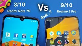 Redmi Note 7S Vs Realme 3 Pro Speed Test & Comparison /Antutu Benchmark Scores