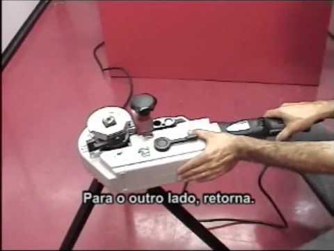 CURVADORA DE TUBOS ELÉTRICA PORTÁTIL ROBEND® 3000