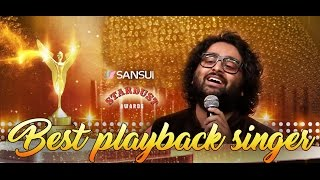 Sansui Colors Stardust Awards 2016 | Arijit Singh | Best playback (Male) | Channa mereya