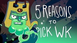 5 REASONS TO PICK WRAITH KING