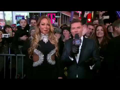 Mariah Carey - New Year's Eve INTERVIEW 2017