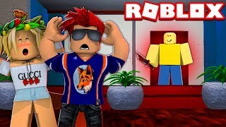 Went To A ROBLOX HOTEL... WORST IDEA EVER! (Roblox Camping W/ John Doe)