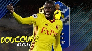 FIFA 18 - TOTS DOUCOURE (87) PLAYER REVIEW