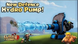 Hydro Pump - New Upcoming Defence in Clash of Clans