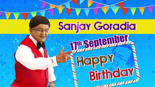 Wishing Sanjay Goradia (Hasya-Samrat) Happy Birthday : Best Comedy Scenes from Gujarati Comedy Natak