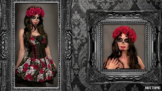 HOW TO: Day Of The Dead Makeup with Traci Hines