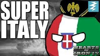 HOW TO MAKE SUPER ITALY - CHEAT/EXPLOIT - Hearts of Iron 4 (HOI4)