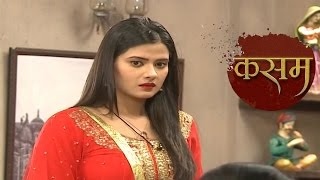 Kasam Tere Pyaar Ki   27th September 2016   Tanuja DESTROYS Her Own Face