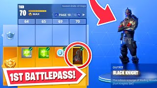 Unlocking the very FIRST Battlepass... (OG SKINS)