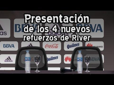 Presentación de los 4 nuevos refuerzos de River