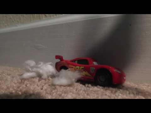 Cars 3 Crash Scene STOP MOTION