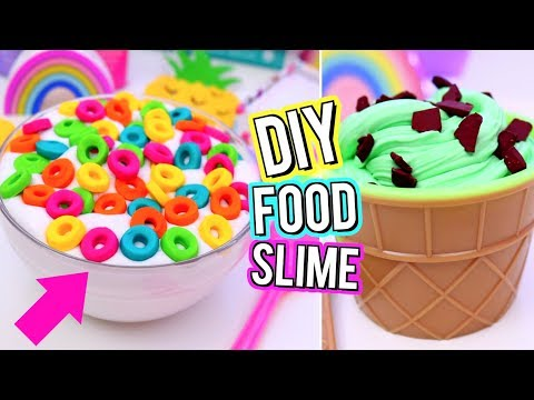 Download DIY Food Inspired SLIME! Crazy SLIME IDEAS You NEED TO TRY! How To Make FUN SLIME!