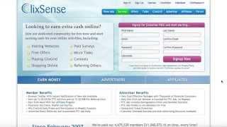 Geld verdienen #003 - Tutorial CLIXSENSE (Deutsch) - Online Geld verdienen 2015/2016