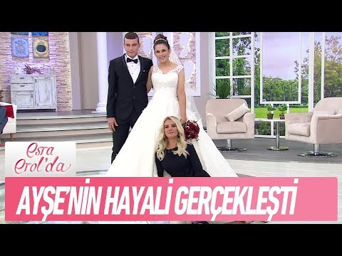 Ayşe'nin en büyük hayali gelinlik giymekti - Esra Erol'da 11 Eylül 2017