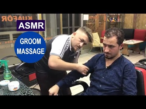 Xxx Mp4 ASMR Turkish Groom Massage Head Face Back Arm Massage DAMAT MASAJ I Kafa Sırt Kol Masajı 3gp Sex