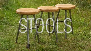 Making Kitchen Stools In Budget and