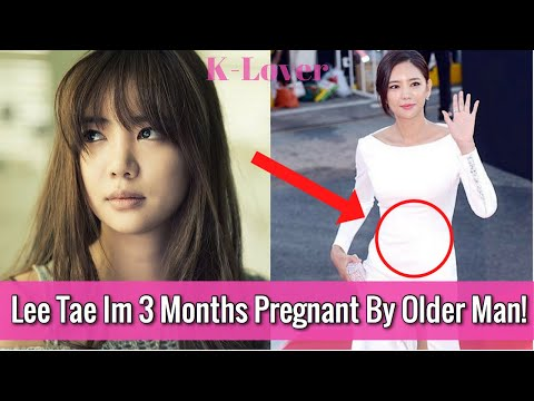 (UPDATE) Actress Lee Tae Im 3 Months Pregnant By Mystery Older Business Man