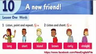 Unit 10 A New Friends Lesson 1 | Family and Friends 1