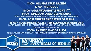 EGX 2017 Saturday - Secret of Mana, Kingdom Come: Deliverance and more!