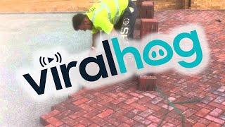 This Is How You Lay Bricks    ViralHog
