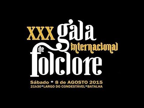 XXX GALA INTERNACIONAL DE FOLCLORE DA BATALHA 2015@RANCHO ROSAS DO LENA