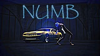 【MMD】Numb – Kaito & Bumble Bee (Camaro)【Galactic Mouth Remix】 [motion  download Link]