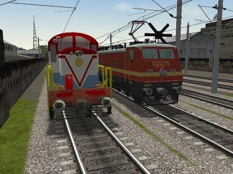 Xxx Mp4 MSTS Train Simulator Indian Railways WDS 6 Shunts And WAP 4 Hauls Train 3gp Sex
