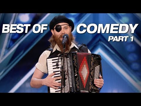 LOL Some Of The Best Comedians Ever America s Got Talent 2018