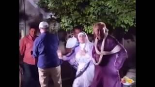 الفنانة هبة سليمان في كواليس مسلسل سموم - المعزب 2