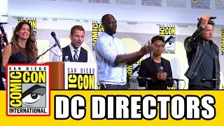 DC Comic Con Surprise: Ben Affleck, Patty Jenkins, Zack Snyder, David Ayer, Rick Famuyiwa, James Wan