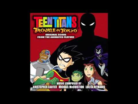 Teen Titans- Trouble in Tokyo OST~ #18 Motorcycle Chase HD 720p