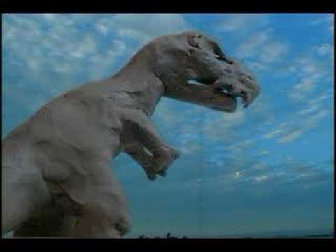 T REX Clay Model Animation