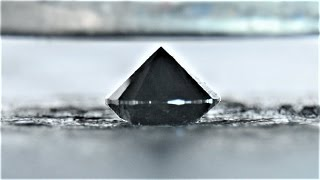 Black Diamond vs Hydraulic Press - Black diamonds matter
