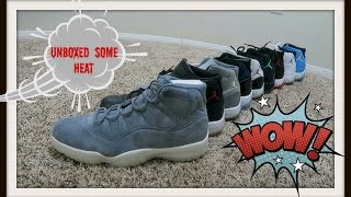 I JUST GOT SOME HEAT IN THE MAIL (CRAZY RETRO 11 LINE UP)