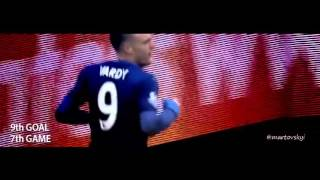 Jamie Vardy   ALL 13 GOALS in 11 GAMES in Straight Raw   RECORD HD