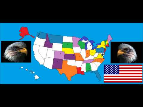 watch 50 States And Capitals By Animaniacs (Wakko's America)